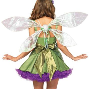 DCCKLP2 Iridescent Pixie Wings in WHITE