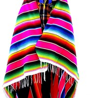 "Mexican Sarape Blanket, 57X83 Inches"" ZARAPE1"