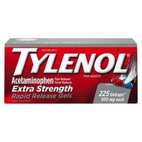 Tylenol® Pain Relief Extra Strength Rapid Release Gelcaps 500mg 225ct