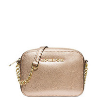 Michael Michael Kors Jet Set Saffiano Travel Crossbody