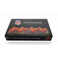 Cleveland Browns NFL Checkers Set