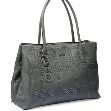 Dkny Tribeca Studded Shopper Bag