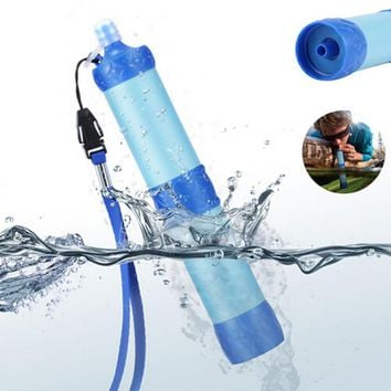 Portable ABS Plastic Water Filter Pressure Purifier