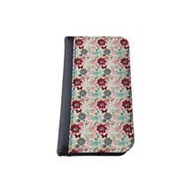 Floral iPhone 5C wallet case MADE IN USA - different designs flip case (Butterflies)