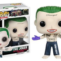 Funko POP Heroes Suicide Squad Joker Shirtless