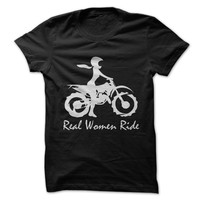 Real Women Ride Dirt Bike
