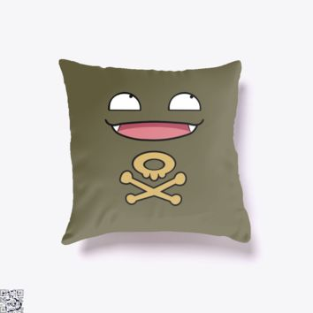 Koffing Love, Pokemon Throw Pillow Cover