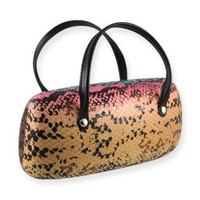 AS140TG Snake Rainbow Extra Large Handbag Eyeglass Case $9.75