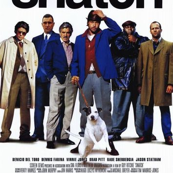 Snatch 11x17 Movie Poster (2001)