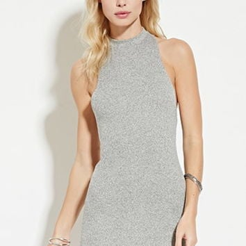 Crisscross-Back Bodycon Dress