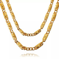 Medusa High End 18K Gold Plated Necklace