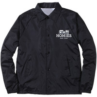 Homies Coaches Jacket - Black