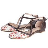 Chelsea Crew Flower sandals - $49.99 : ShopRuche.com, Vintage Inspired Clothing, Affordable Clothes, Eco friendly Fashion