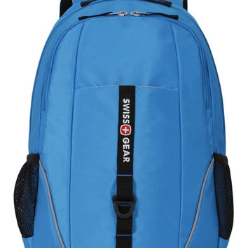 SwissGear SA6639 Neon Blue Computer Backpack - Fits Most 15 Inch Laptops and ...