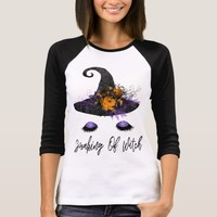 Cute Glam Halloween Speaking Of Witch T-Shirt