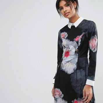 Ted Baker Chelsea Long Sleeve Dress at asos.com
