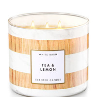 Tea & Lemon 3-Wick Candle | Bath And Body Works