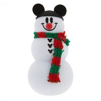 Disney Parks Christmas Snowman with Mickey Ear Hat Antenna Pencil Topper New