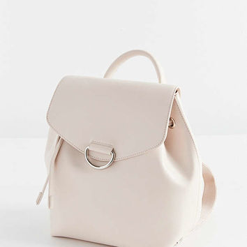 Mellie Faux Leather Mini Backpack   Urban Outfitters
