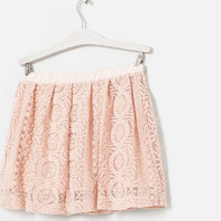EMBROIDERED SKIRT - Skirts and shorts - Girl (2 - 14 years) - Kids | ZARA United States