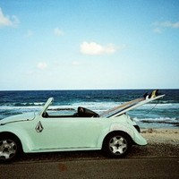 beach, car, hawaii, picture, sea - inspiring picture on Favim.com