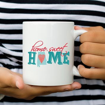 Home Sweet Home Alabama Coffee Mug