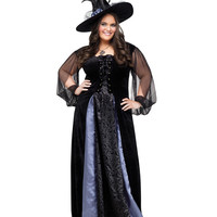 Gothic Maiden Adult Womens Plus Size Costume – Spirit Halloween