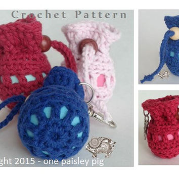 eos Lip Balm Holder Pouch - PDF CROCHET PATTERN
