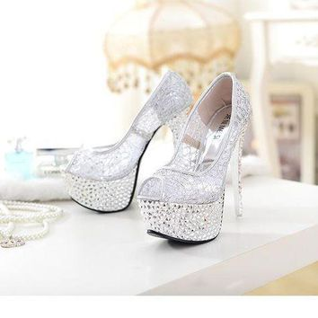 ca DCCKTM4 High Heel Summer Club Sexy Lace Peep Toe Shoes [11203300615]