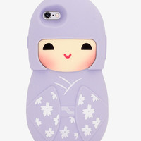 Lavender Japanese Doll 3D Phone Case