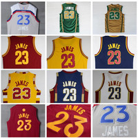 Stitched 23 Leb James Christmas Jersey For Lebron James College Jerseys Throwback Lebron James Basketball Jersey S-XXL
