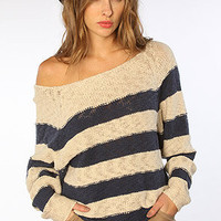 The Honeycomb Dolman Sweater in White Swan