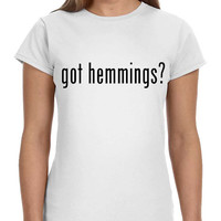 Got Hemmings Luke 5SOS 5 Seconds of Summer Ladies Softstyle Junior Fit Tee Cotton Jersey Knit Gift Shirt Concert