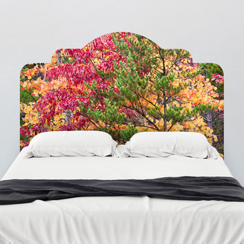 Paul Moore's Seasons and Conifers, TN Headboard wall decal