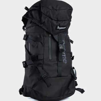 cc auguau Supreme Black Outdoor Bag