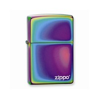 Zippo Spectrum with Zippo Logo Lighter - Engravable Personalized Gift Item