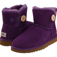 UGG Mini Bailey Button Boysenberry - Zappos.com Free Shipping BOTH Ways