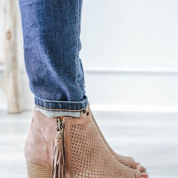 Renegade Booties - Mocha