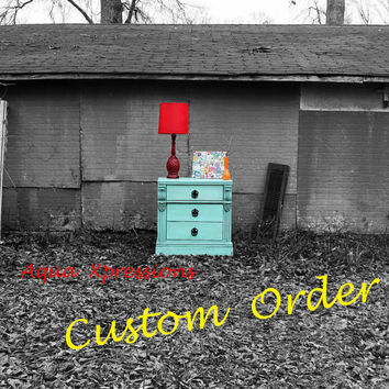 Custom Order for Chason Purdy  Single Aqua Light by AquaXpressions