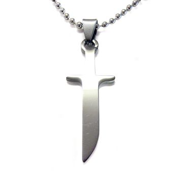 Knife Cut Out Necklace
