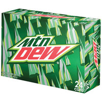 Walmart: Mountain Dew, 12 fl oz, 24 pack