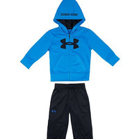 Royal Blue Future Camo Zip-Up Hoodie & Pants - Infant | zulily
