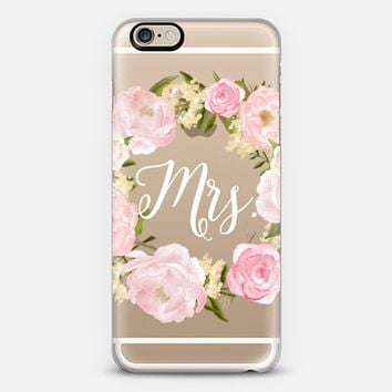 Mrs. iPhone 6 case by The Olive Tree | Casetify