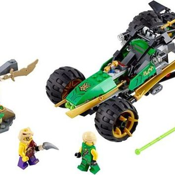 Building Blocks Sets china brand Ninjago Jungle Raider Toy (Discontinued by manufacture  compatible with Lego 70755