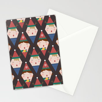 Day 25/25 Advent - a Christmas Carol Stationery Cards by lalainelim