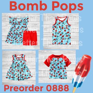Bomb Pops Collection!! Preorder 0888 Closes 3/24 @8pm est! ETA 6-8 Weeks!!
