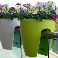 The Green Head - Greenbo Railing Planter