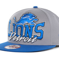 Detroit Lions NFL Gray Out and Up 9FIFTY Snapback Cap