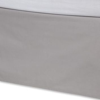 Kenneth Cole Reaction Home Element Bed Skirt in Grey
