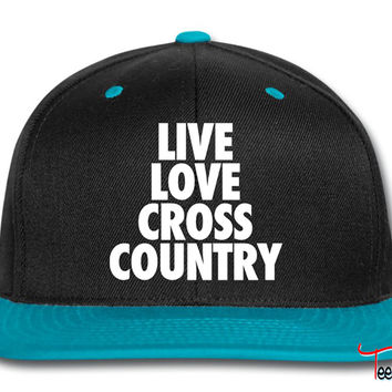 Live Love Cross Country Snapback